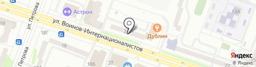 Марийобувьбыт на карте Йошкар-Олы