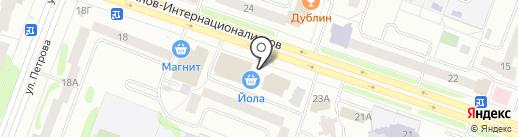 Швейная мастерская на карте Йошкар-Олы