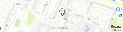 Компания по производству мебели на карте Йошкар-Олы