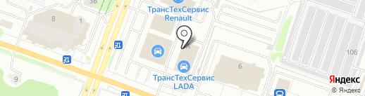 Mitsubishi на карте Йошкар-Олы