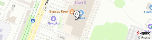 Цветной на карте Йошкар-Олы