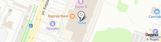 Befree на карте Йошкар-Олы