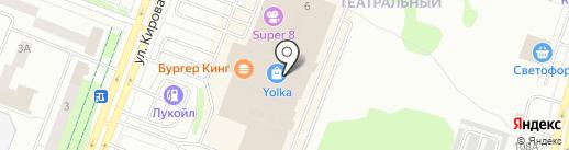 Sela на карте Йошкар-Олы