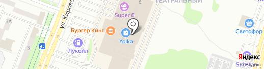 Книга+ на карте Йошкар-Олы