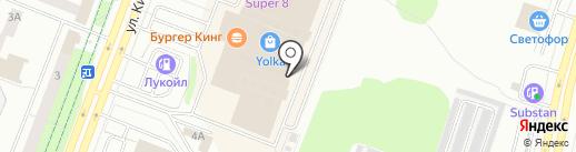 Мегастрой на карте Йошкар-Олы
