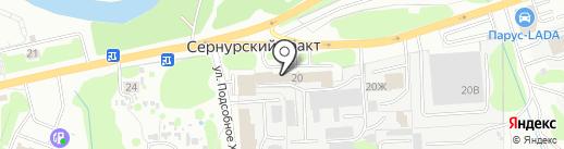 Центр проката автомобилей на карте Йошкар-Олы