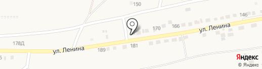 Золотая Середина на карте Старокучергановки