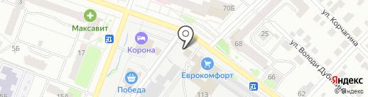 Автокраски на карте Йошкар-Олы