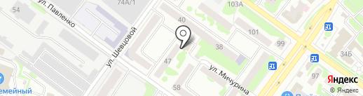 Отдел вневедомственной охраны по г. Йошкар-Оле на карте Йошкар-Олы