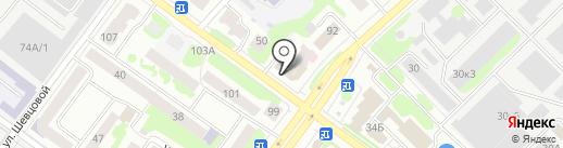 ИнвестКредитСервис на карте Йошкар-Олы