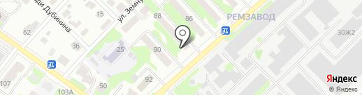 Автотранспортная компания на карте Йошкар-Олы