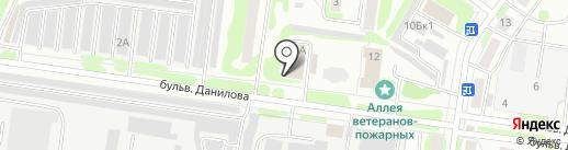 Автостанки.рф на карте Йошкар-Олы