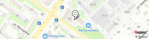 Наслаждение на карте Йошкар-Олы