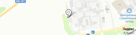 Тёплый дом М на карте Йошкар-Олы