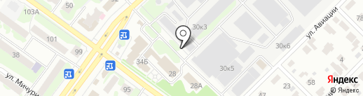 Синтепон12 на карте Йошкар-Олы