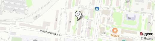 Марий Эл-Фармация на карте Йошкар-Олы