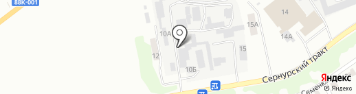 ИВ-Сталь на карте Йошкар-Олы
