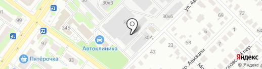 АртСтудия на карте Йошкар-Олы
