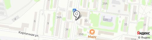 Русские пироги на карте Йошкар-Олы