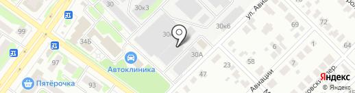 ХОЛОДОН.РУ на карте Йошкар-Олы