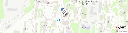 ПенХаус на карте Йошкар-Олы
