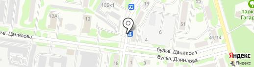 Магазин алкогольных напитков на карте Йошкар-Олы