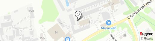 Им. В.И. Ленина, ЗАО на карте Йошкар-Олы