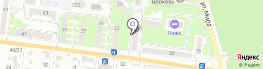Апартаменты Hotel-Home на карте Йошкар-Олы