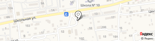 Рублевка на карте Трусово