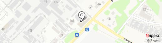 Мебельный цех на карте Йошкар-Олы