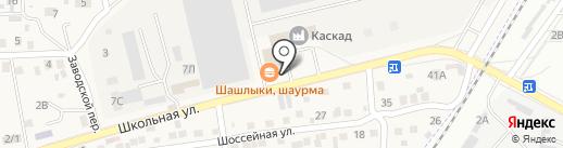 Зухал на карте Трусово