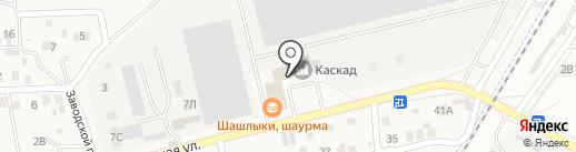 Почтовое отделение на карте Трусово