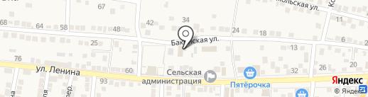 Мелия на карте Старокучергановки