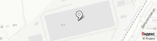 Бастион на карте Трусово