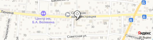 Оазис на карте Старокучергановки