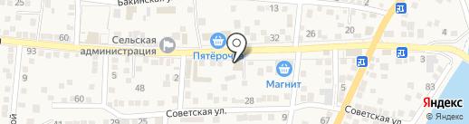 Продовольственный магазин на карте Старокучергановки