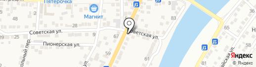 Магазин разливного пива на карте Старокучергановки