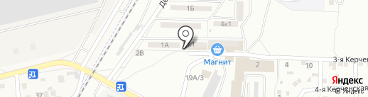 Руслан на карте Астрахани