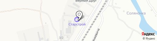 СТАРСТРОЙ на карте Трусово