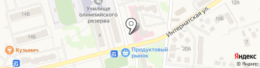 Домуправление №117 на карте Йошкар-Олы