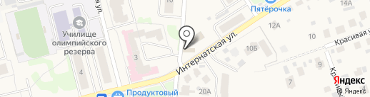 Вероника на карте Йошкар-Олы