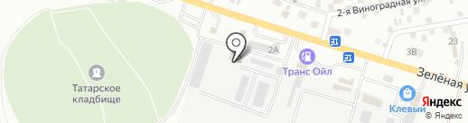 Связьстрой-2 на карте Карагали