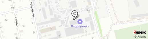 Перерабатывающая компания на карте Йошкар-Олы