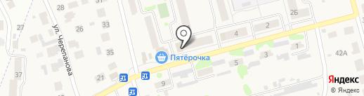 Колосок на карте Знаменского
