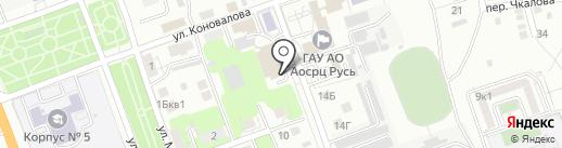 Мешкотара на карте Астрахани