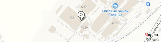 Магазин продуктов на карте Солянки