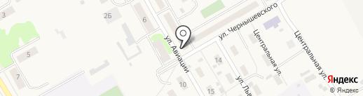 Продуктовый киоск на карте Йошкар-Олы