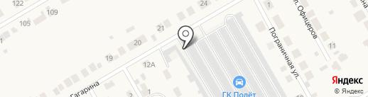 Полет на карте Йошкар-Олы