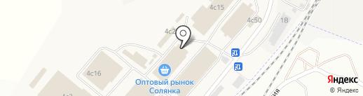 Производственно-торговая фирма на карте Солянки