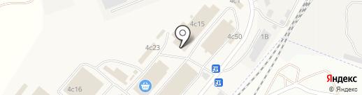 Квартал на карте Солянки